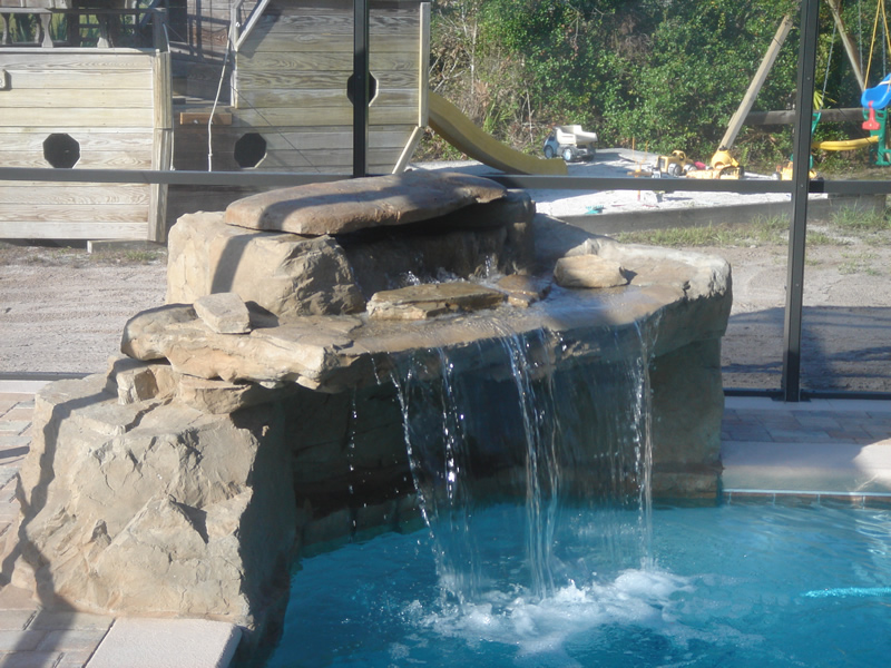 Add Moving Water to Your Pool And Make It Look Cooler.