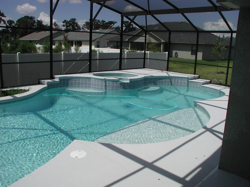 A Pool And Spa Are A Prescription For Water Healing Therapy.