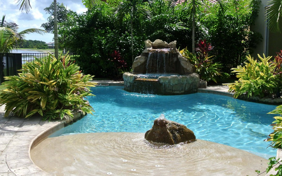 Adding Moving Water to Your Pool