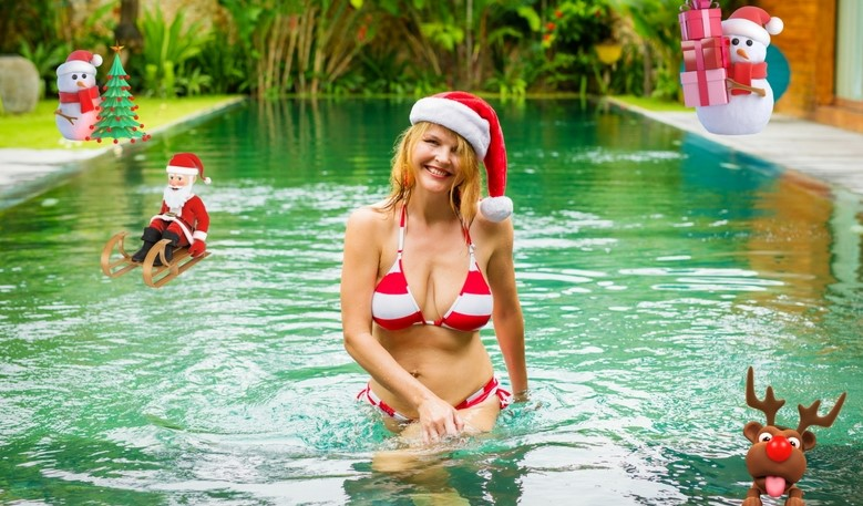 Swimming Pool Ideas For The Holidays!